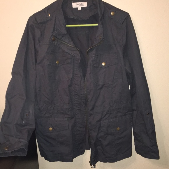 Charlotte Russe Jackets & Blazers - Utility Jacket